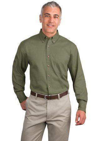 Port Authority - Long Sleeve Twill Shirt. S600T