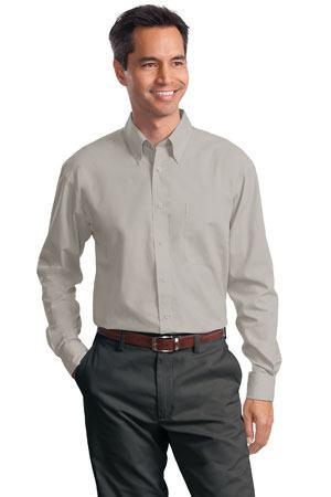 Port Authority - Long Sleeve Value Poplin Shirt. S632