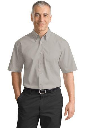 Port Authority - Short Sleeve Value Poplin Shirt. S633