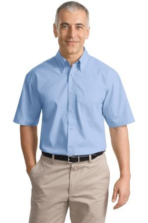 Port Authority - Short Sleeve Value Poplin Shirt. S633