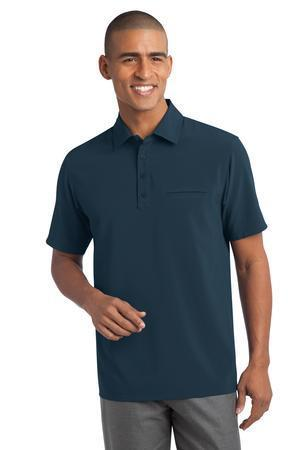 Port Authority - Ultra Stretch Pocket Polo.S650
