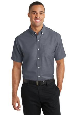 Port Authority Short Sleeve SuperPro OxfordShirt. S659