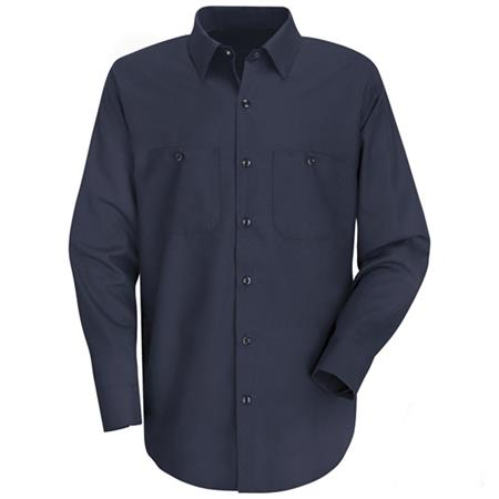 Mens Wrinkle-Resistant Cotton Work Shirt SC30