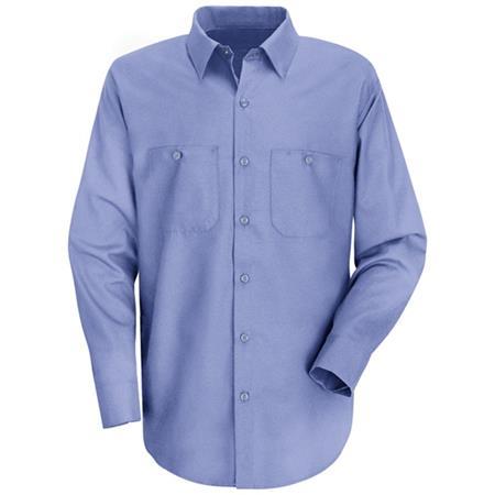 Mens Wrinkle-Resistant Cotton WorkShirt -SC30