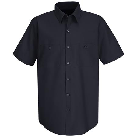 Mens Wrinkle-Resistant Cotton Work Shirt -SC40