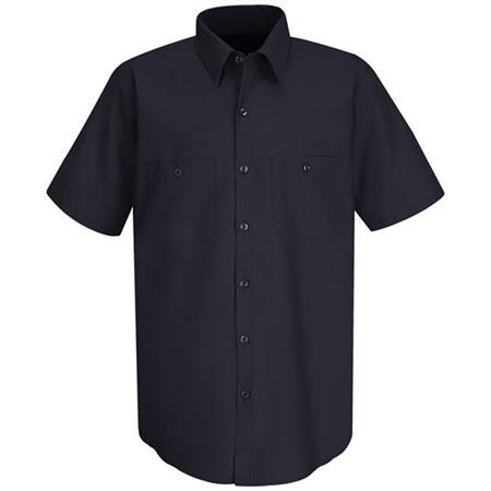 Mens Wrinkle-Resistant Cotton WorkShirt -SC40