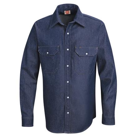 Mens Deluxe Denim Shirt  - SD78