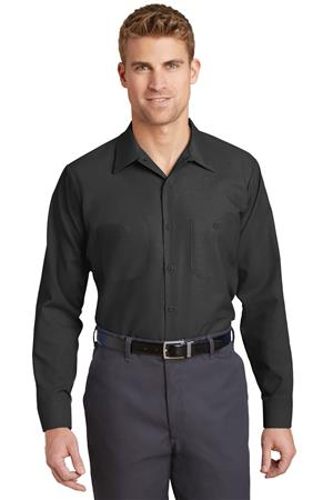 Red Kap Long Size  Long Sleeve Industrial Work Shirt. SP14LONG