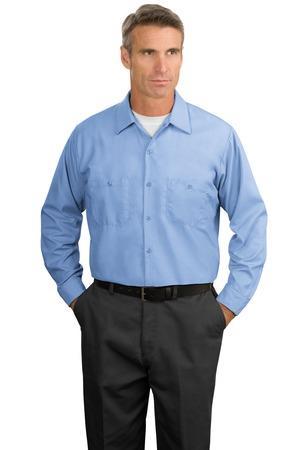 Red Kap - Long Sleeve Industrial Work Shirt.SP14
