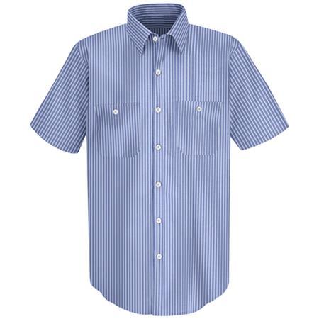 Mens Industrial Stripe Work Shirt - SP20
