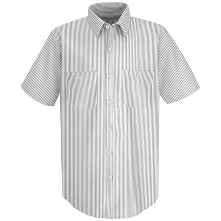 Mens Industrial Stripe Work Shirt - SP20