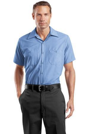 SanMar Short Sleeve Industrial Work Shirt. SP24