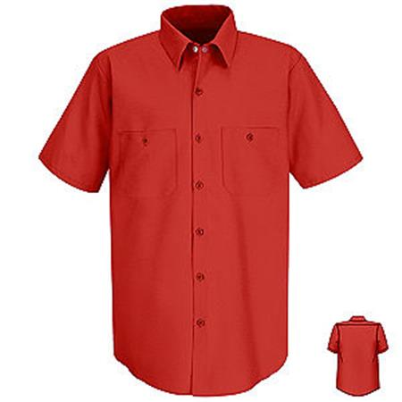 Red Kap Unisex Industrial Work Shirt - SP24RD