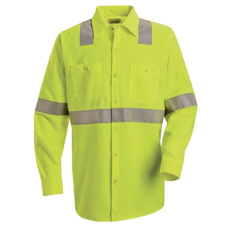 Hi-Visibility Work Shirt - Class 3 Level 2 -SS14