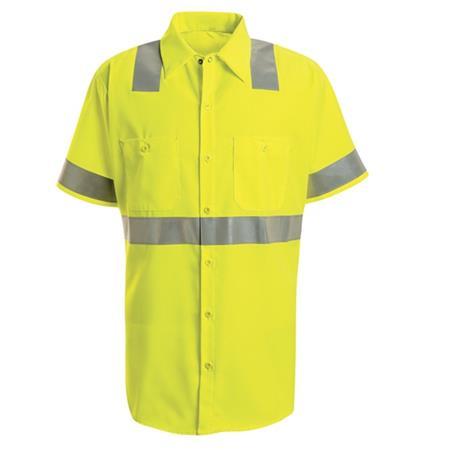 Hi-Visibility Work Shirt - Class 3 Level 2 -SS24