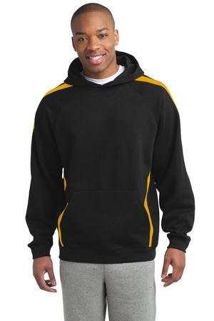 Sport-Tek - Sleeve Stripe Pullover Hooded Sweatshirt. ST265