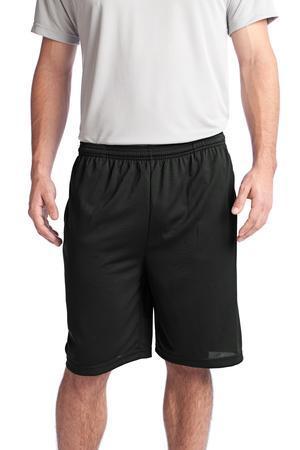 Sport-Tek PosiCharge Tough Mesh Pocket Short. ST312