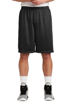 Sport-Tek Long PosiCharge Classic Mesh Short. ST515