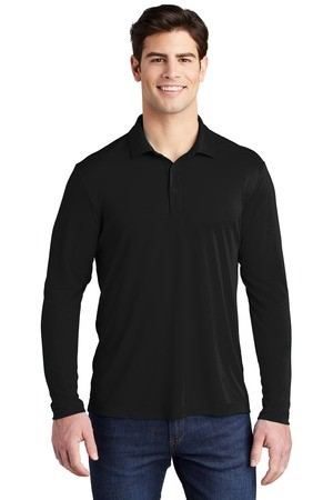 Sport-Tek Posi-UV Pro Long Sleeve Polo ST520LS