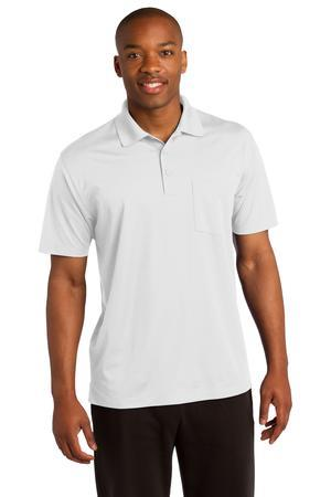 Sport-Tek Micropique Sport-Wick Pocket Polo.ST651