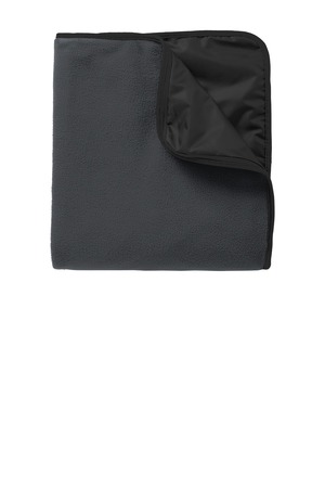 Port Authority Fleece and Poly Travel Blanket.TB850