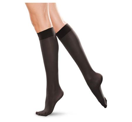 20-30 mmHg Knee High Closed Toe TF172
