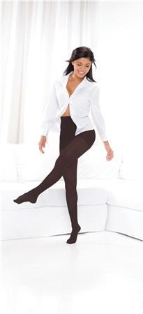 10-15 mmHg Footless Opaque Tights TF371