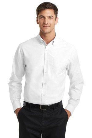 Port Authority Tall SuperPro Oxford Shirt. TS658