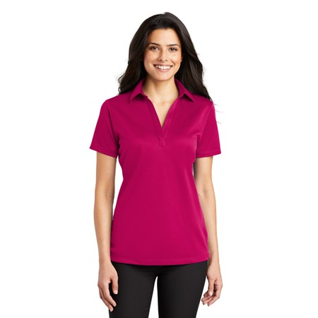 PINK Promo - Port Authority - Ladies Silk Touch Performance Polo. L540