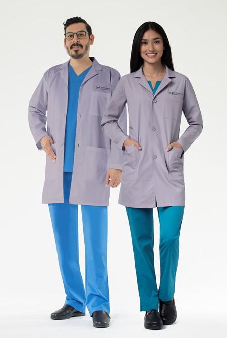 Unisex Lavender Lab Coat