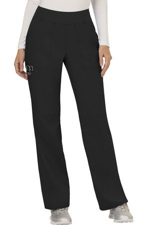 Cherokee Workwear Revolution Mid Rise Straight Leg Pull-on Pant WW110