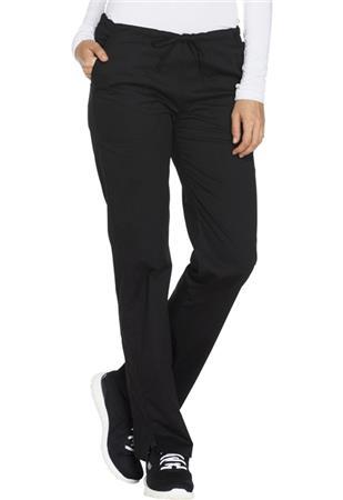 Cherokee Workwear Mid Rise Straight Leg Drawstring Pant WW130P