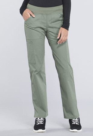 Mid Rise Straight Leg Pull-on Cargo Pant WW170