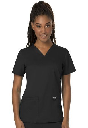 Cherokee Workwear V-Neck Top WW620