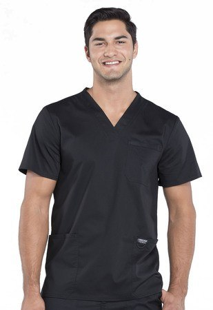 Cherokee Workwear Revolution Men's V-Neck Top WW670
