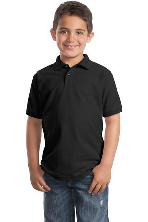 Port Authority - Youth Silk Touch Polo. Y500