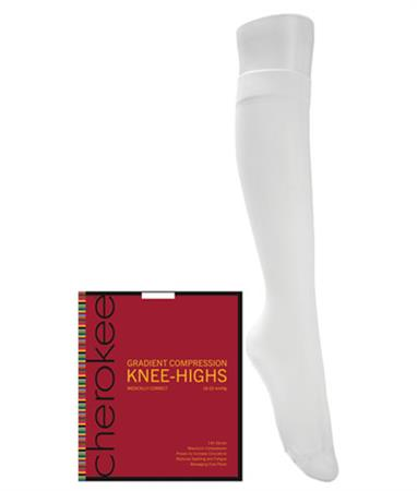 1 Pair Pack of Support Knee Highs YKHMC1