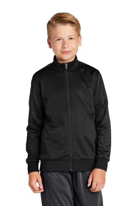 Sport-Tek  Youth Tricot Track Jacket YST94