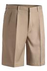 Men's Microfiber Pleated Short 9 inch Inseam 2474