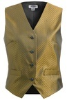 Women's Diamond Brocade Vest 7390
