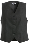 Ladies' High-Button Vest 7680