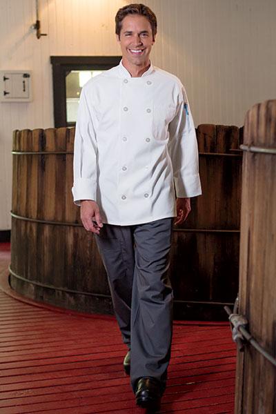 Chef Coat 10 Btn 0402