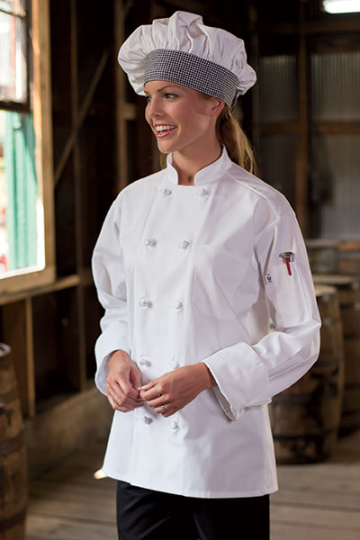 Chef Coat 10 Knot 0403C