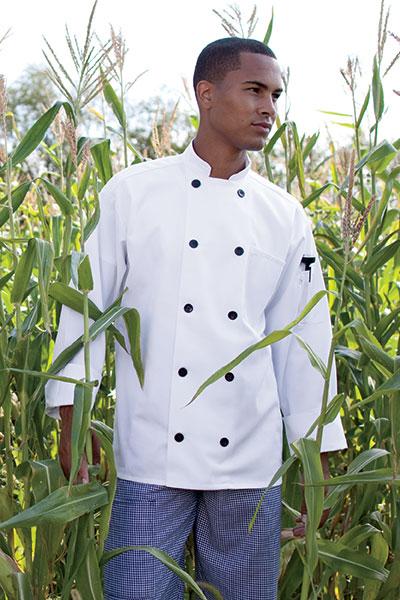 Chef Coat 10 Btn  0405