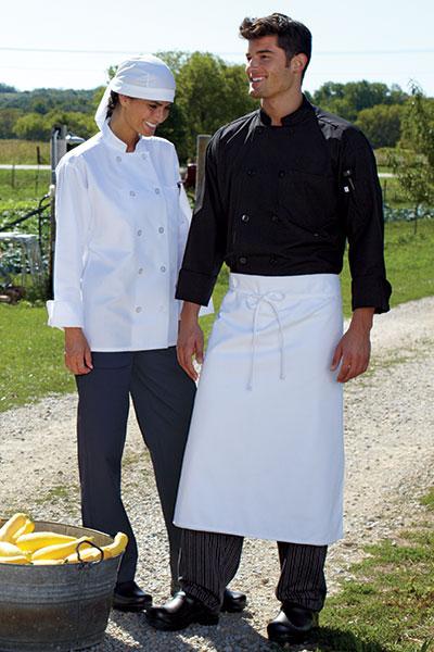 Chef Coat 10 Btn 5.25Oz 0413