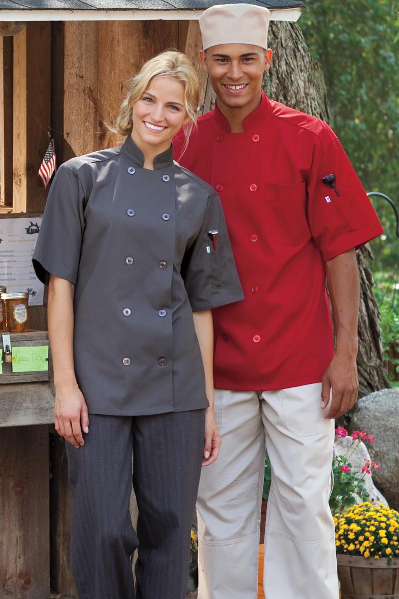 Chef Coat  Short Slvs 0415