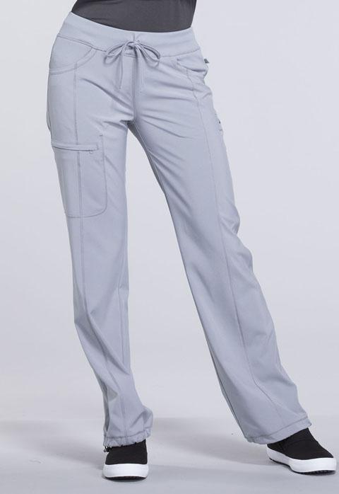 Cherokee Infinity Women's Low Rise Straight Leg Drawstring Pant 1123AP Petite