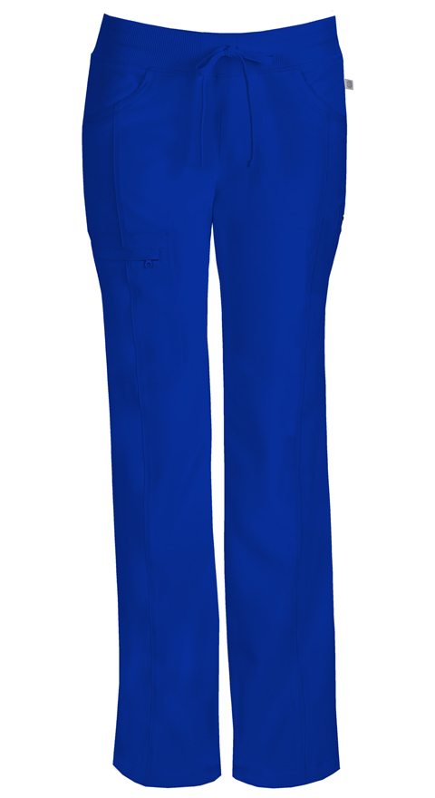 Cherokee Infinity Women's Low Rise Straight Leg Drawstring Pant 1123AT Tall