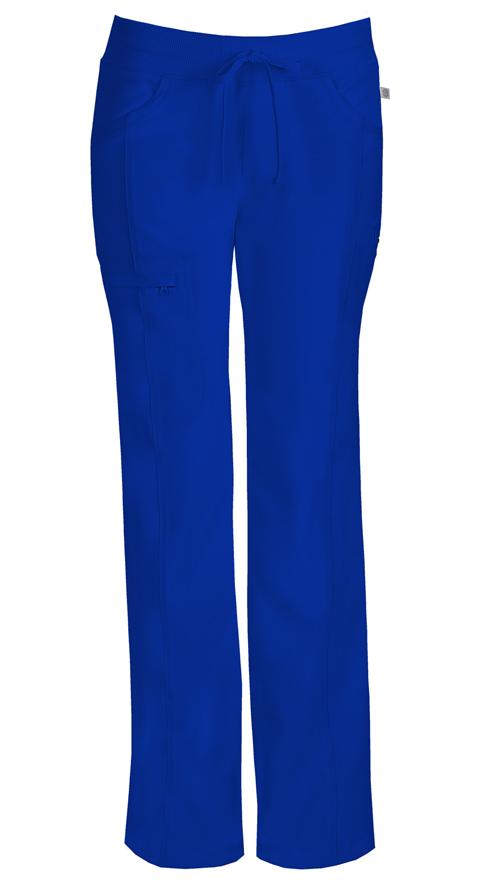 Cherokee Infinity Women's Low Rise Straight Leg Drawstring Pant 1123A