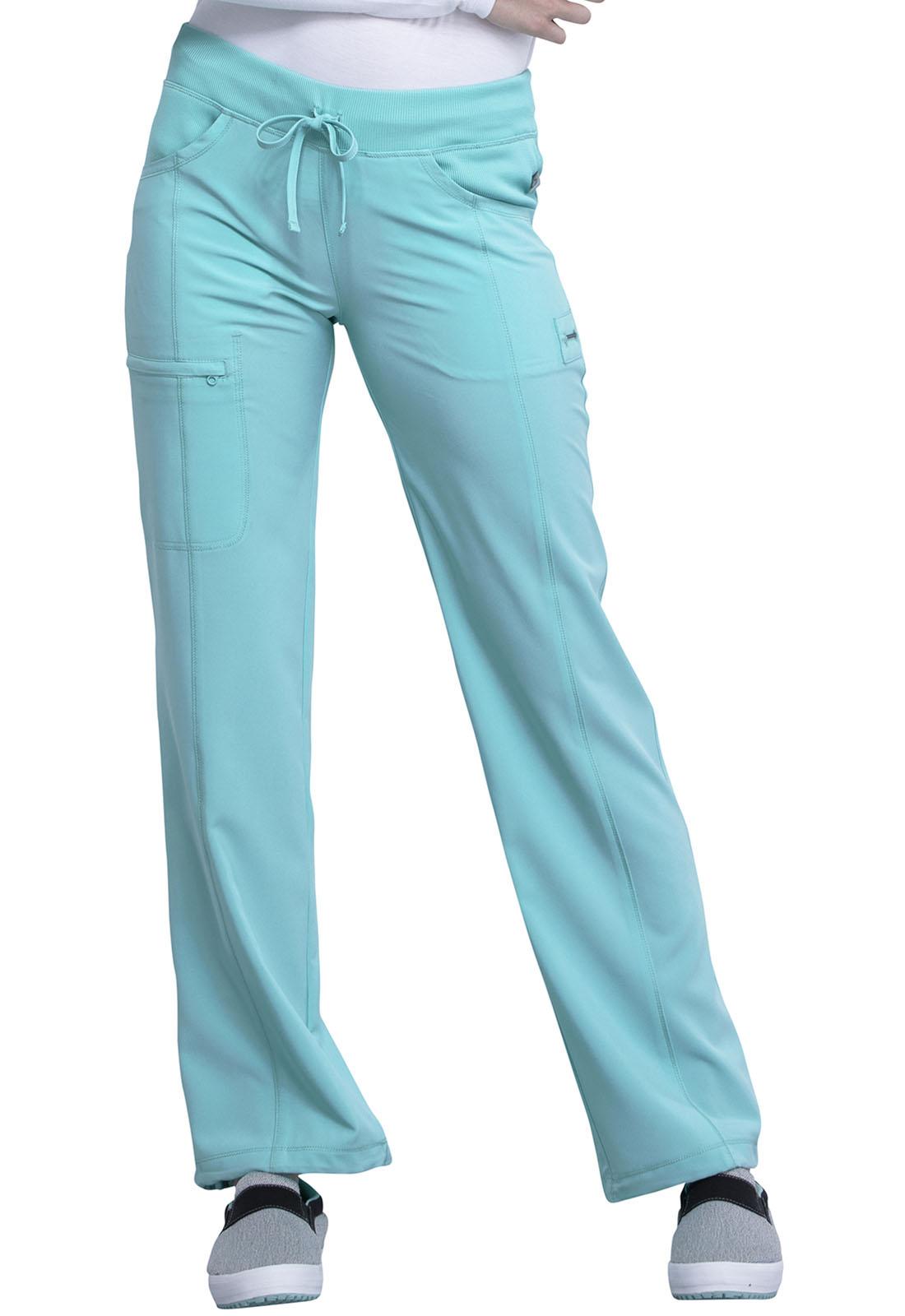Cherokee Infinity - Low Rise Straight Leg Drawstring Pant 1123A
